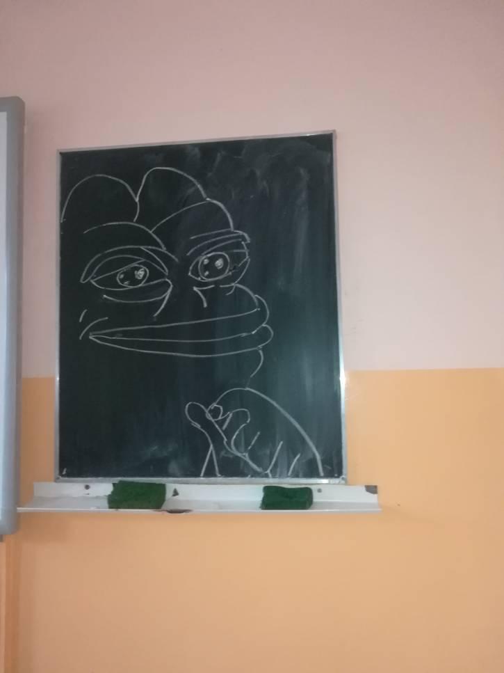 Uśmiechnięty Pepe