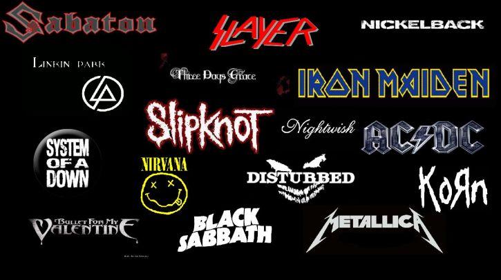Kilka moich ulubionych zespołów ^^