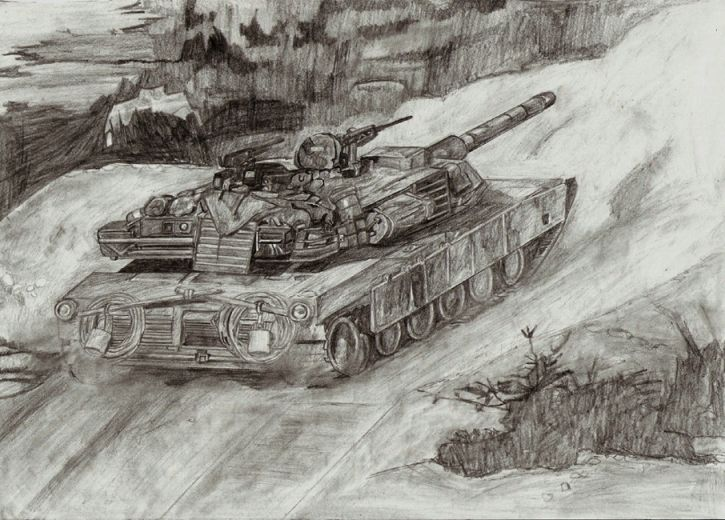M1 A1 ABRAMS