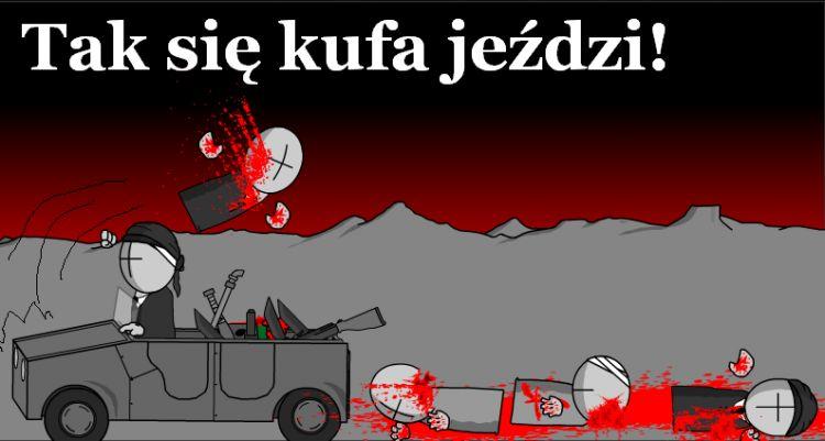 Tak się jeździ w Krakowie :D