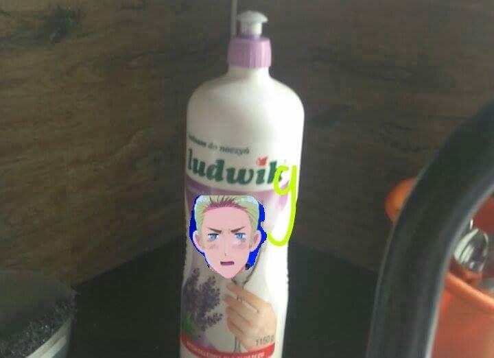 Ludwig,najlepszy płyn do naczyń.