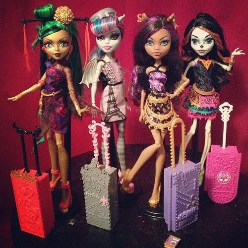 MonsterHigh Paryż