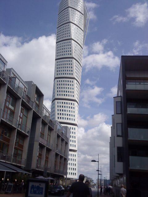 to jest wieża mieszkalna w szwecji