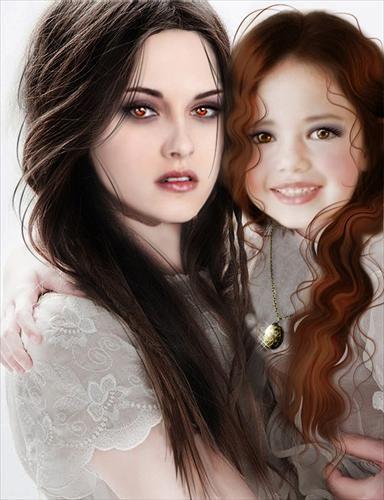 Bella i Renesmee