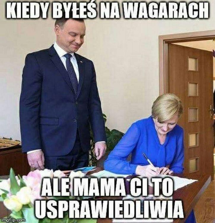 Na wagarach...