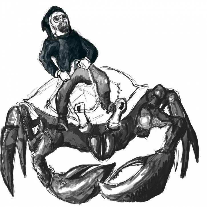 Czarnoksiężnik na szlachetnym rumaku