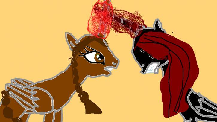 moja zła strona DarkBlad vs AppleCroft kto wygra?