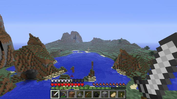Ładne krajobrazy w Minecraft