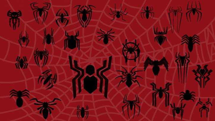 Wszystkie loga spidermana