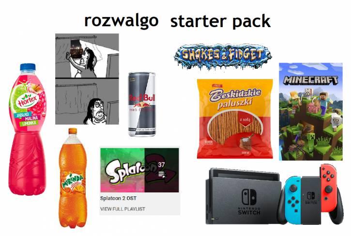 rozwalgo starter pack