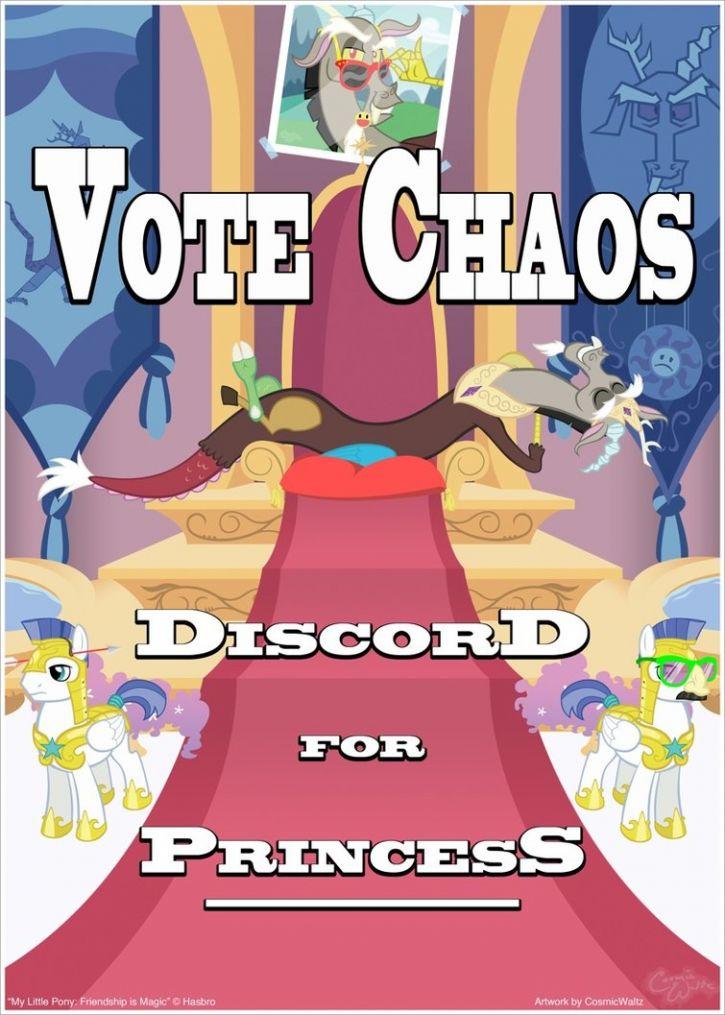 Księżniczka Discord! xD