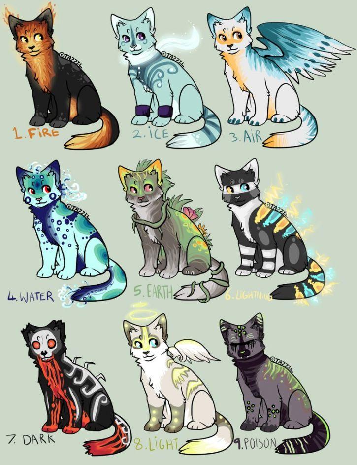 Koty żywiołów