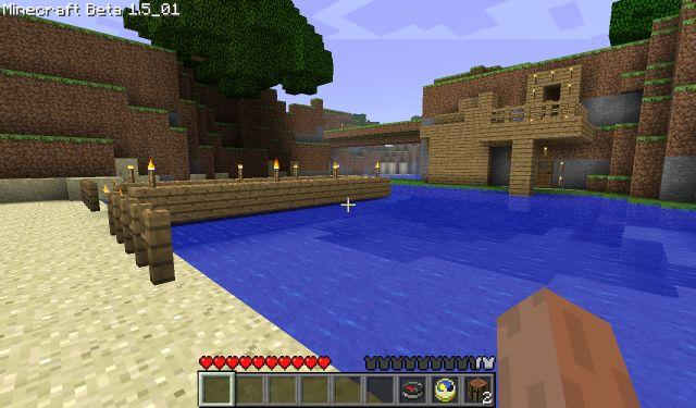 placyk nad wodą