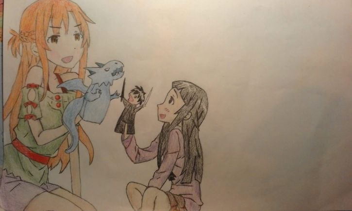 Asuna i Yui :3