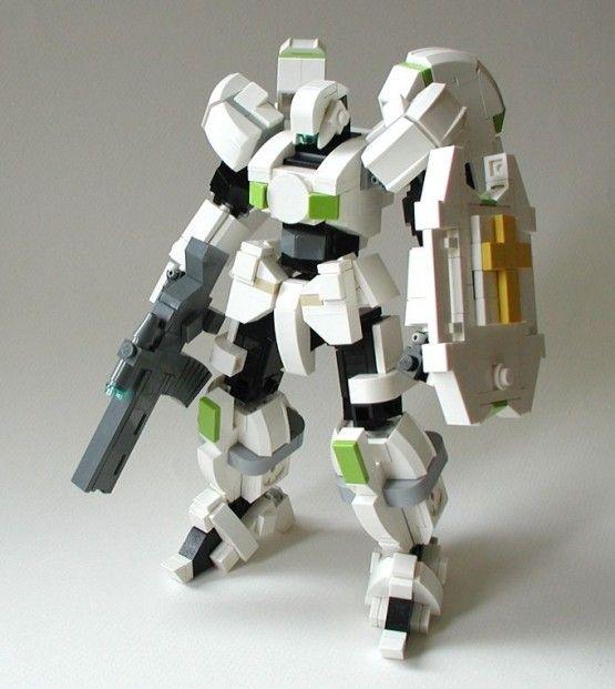robot obrońca lego