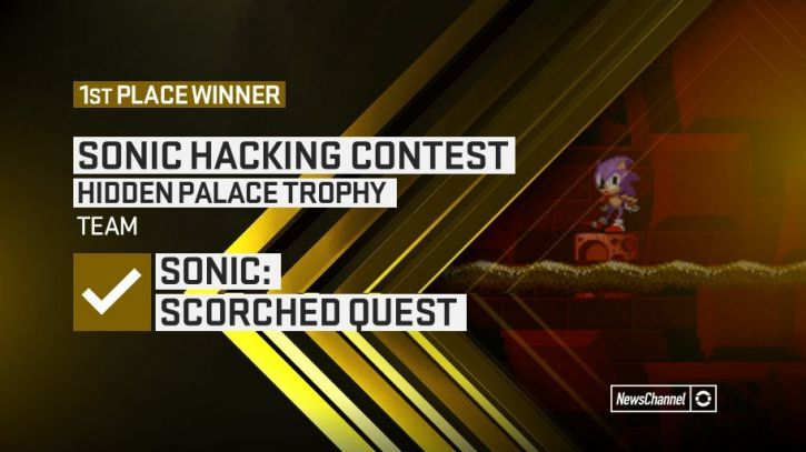 Scorched Quest wygrywa Sonic Hacking Contest :D