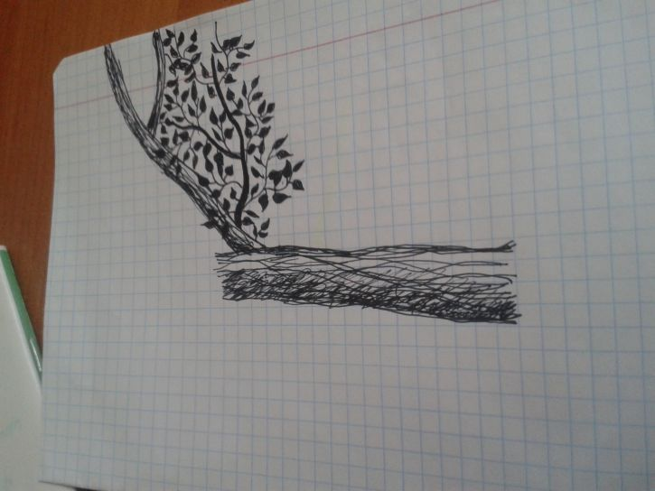 Taki tam niedokończone drzewkoo ;x