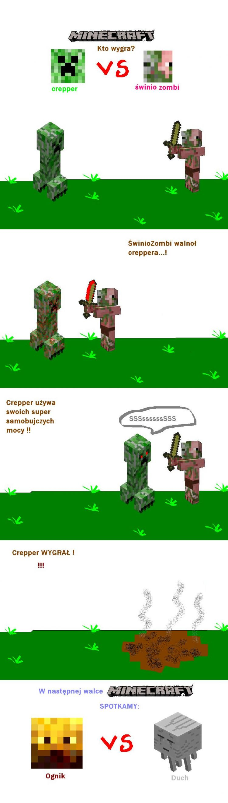Walka Minecraft