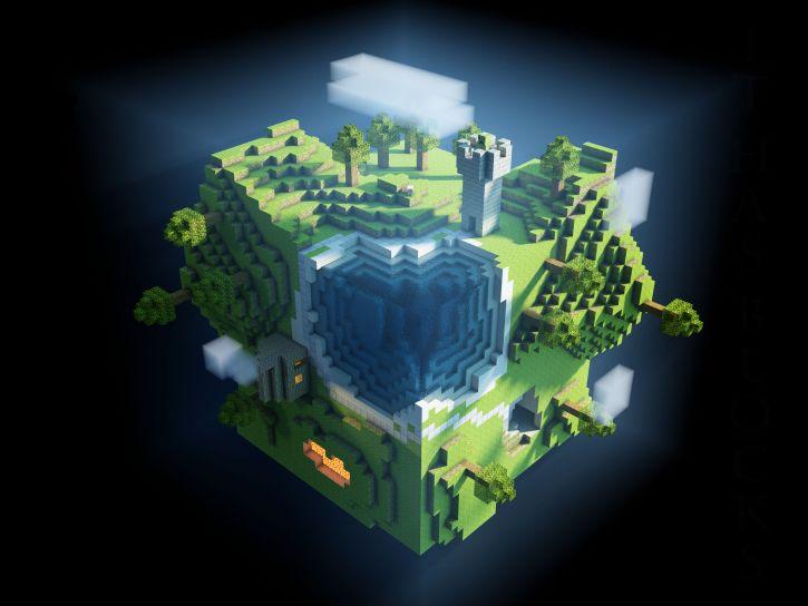 Planeta minecraft
