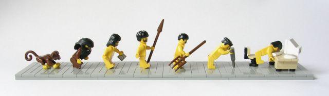 Ewolucja (Wersja Lego)