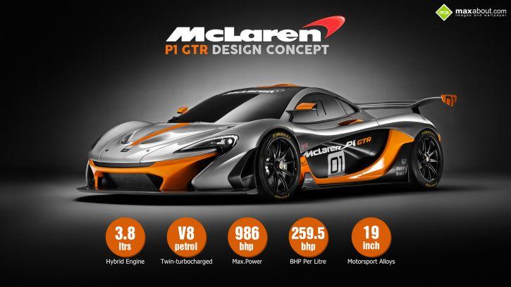 MClaren P1 GT-R