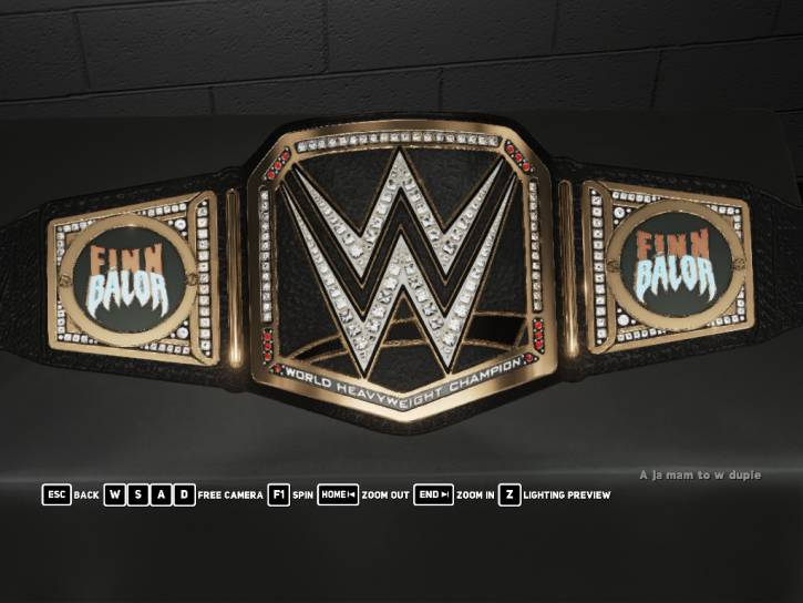 Demon WWE Custom Championship