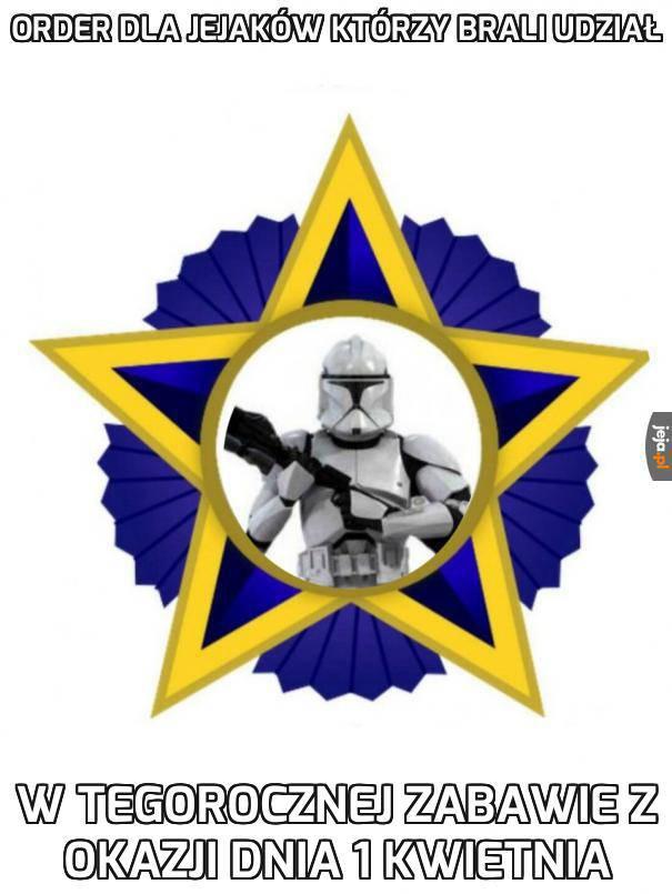 Odznaka za 1 kwietnia 2020