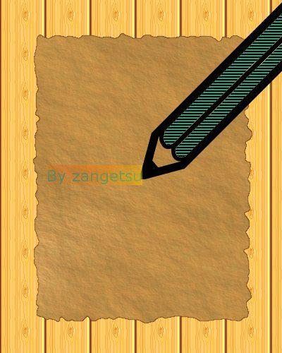 karteczka na stole