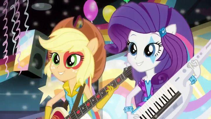 my little pony eqestria girls rainowbow rock