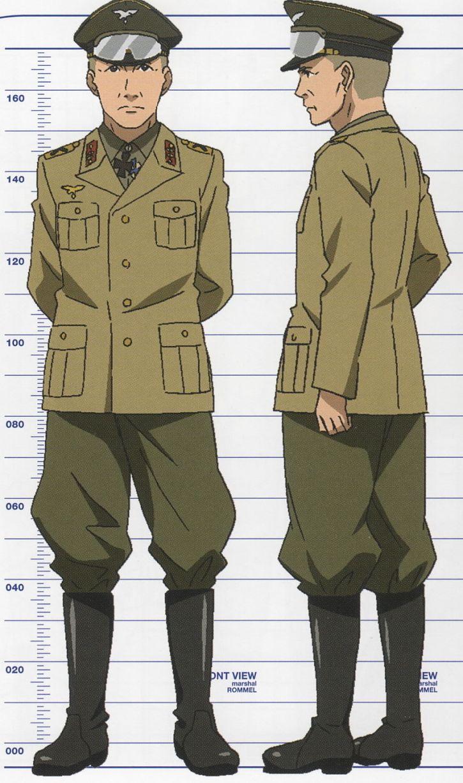 Rommel nawet w anime