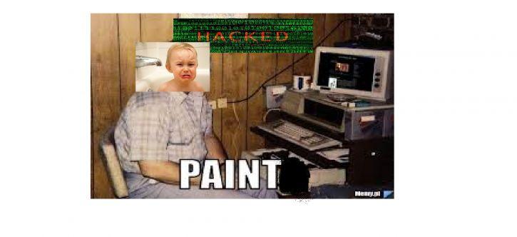 Paint został zhackowany