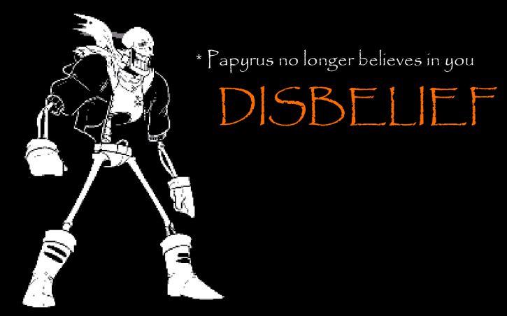 Papyrus PixelArt Tapeta