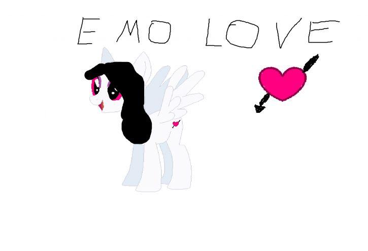 Moja Nowa OC Emo Love