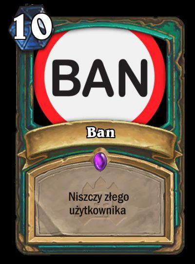 Ban Card