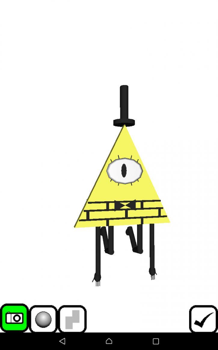 Bill Cipher 3D