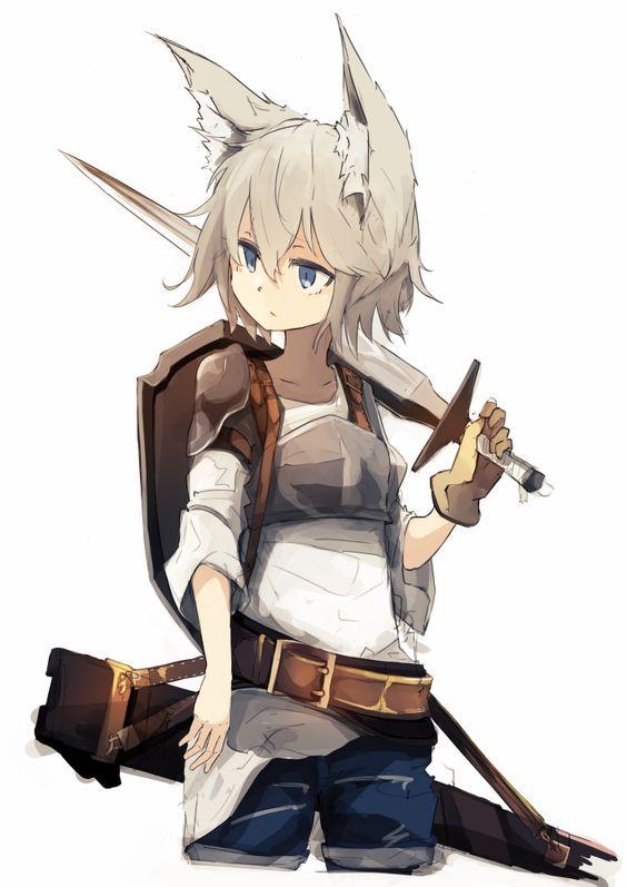 Sword and neko