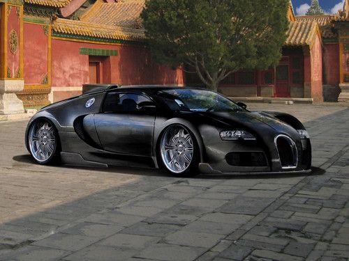 mój pomysł na tuning bugatti bb veyron