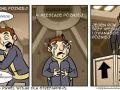 krótki komiks o pewnym człowkieku