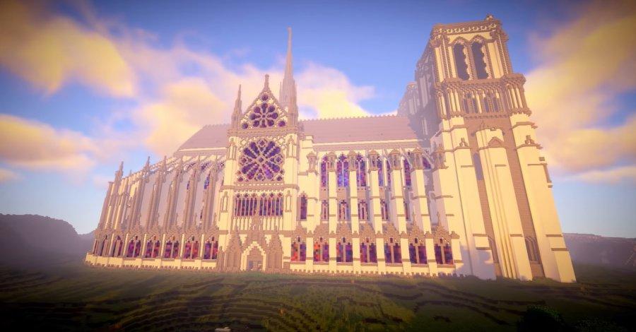 Minecraft - TOP 5 najbardziej spektakularnych budowli
